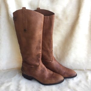Sam Edelman Penny leather brown riding boot EUC 10